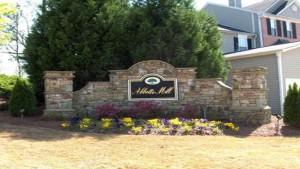 185 Abbotts Mill Dr entrance