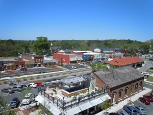 downtown Woodstock