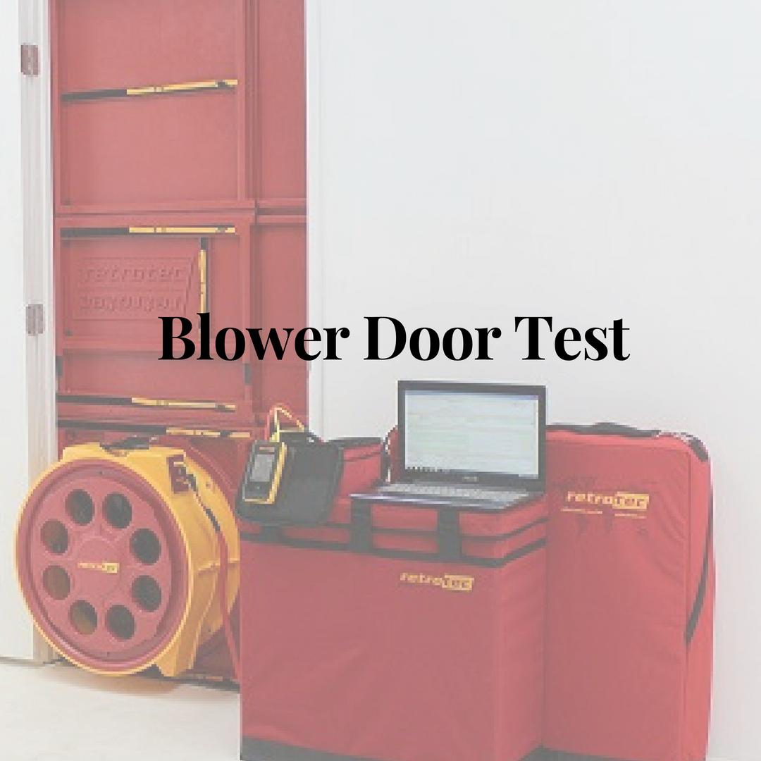 Blower Door Tests