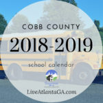 Cobb County School Calendar 2018-2019