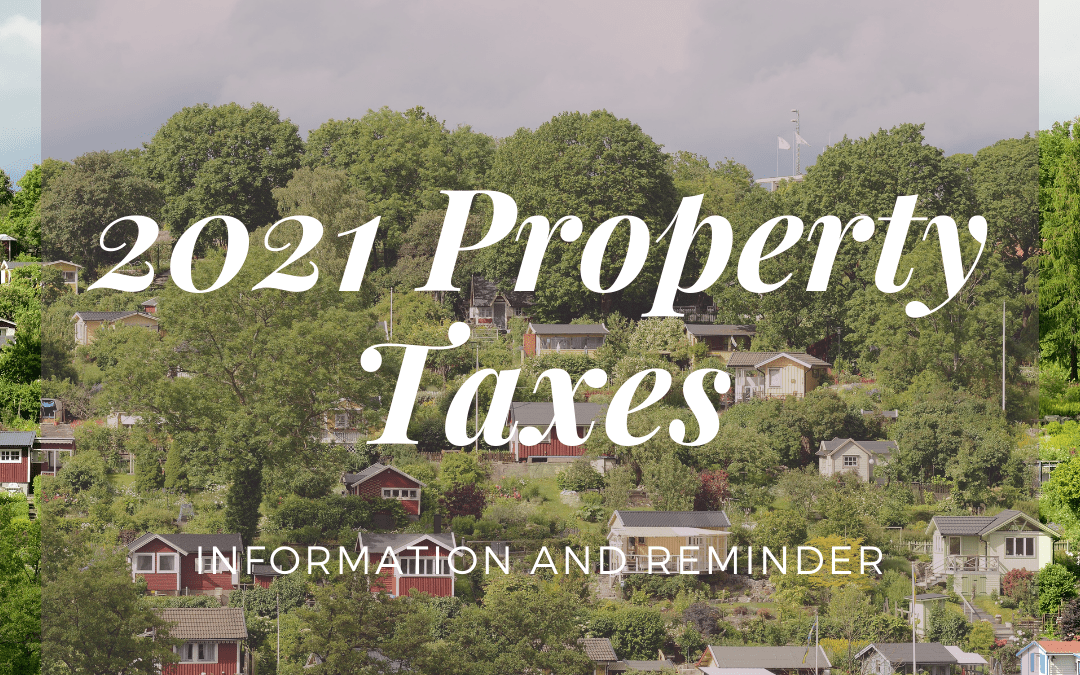 Property Tax Time, Again!